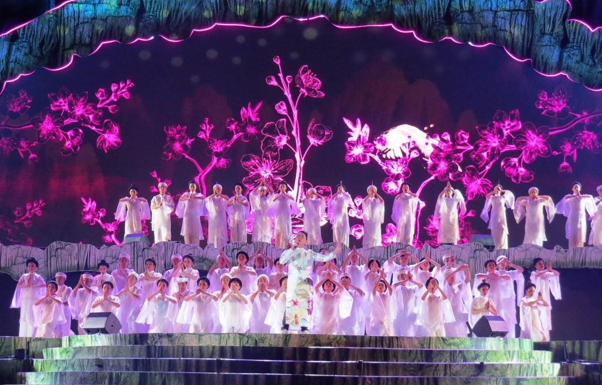 2019年のクアンビン洞窟祭り