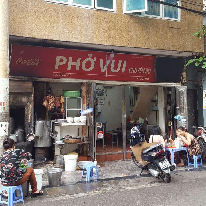 ハノイにおける有名なフォーのお店7選 1