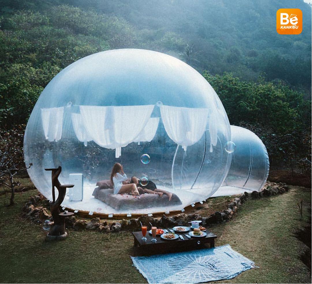 ダラット:バリに失わない美しい空曇りのビューを持つ「バブルホテル」登場