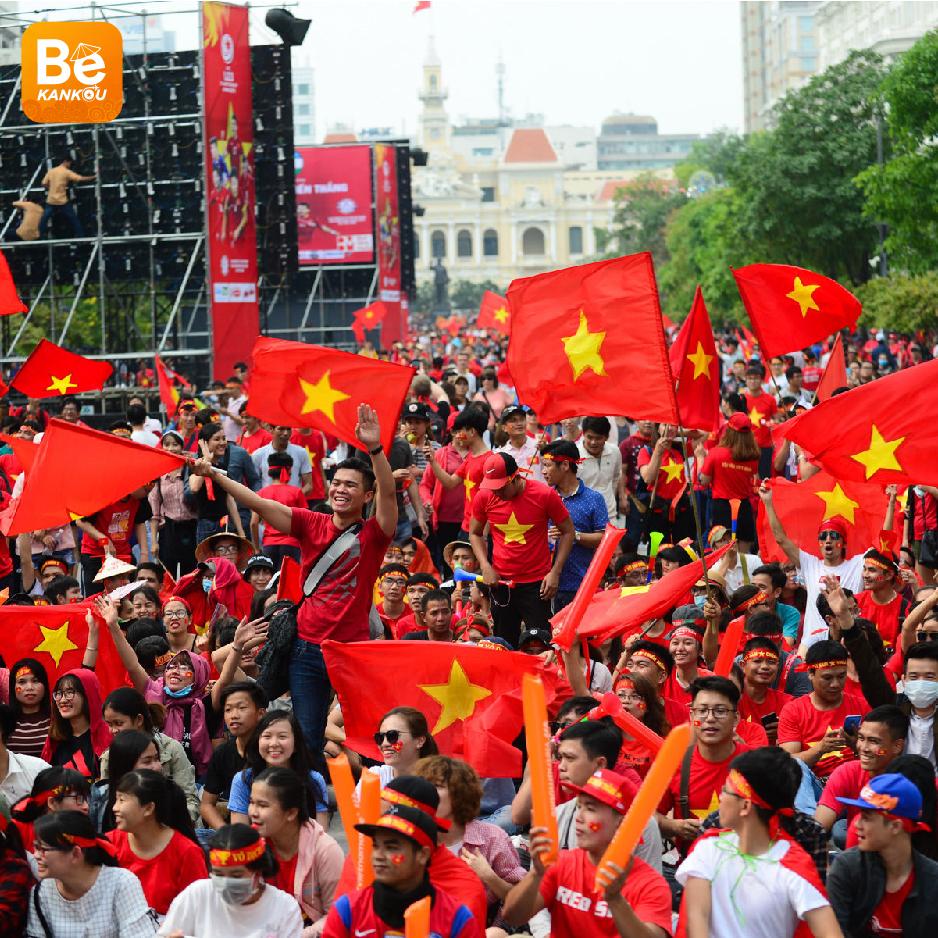 ベトナムにおける注目のイベント:9月5日の夜、NGUYEN HUE(グエンフエ)通りには、ベトナム対タイのサッカー試合を放送する大型スクリーン設置-03