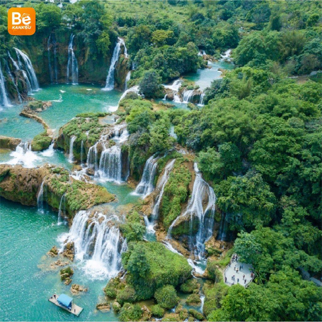 多くの興味深い活動を伴う特別なバンゾック(Thac Ban Gioc)滝祭り8