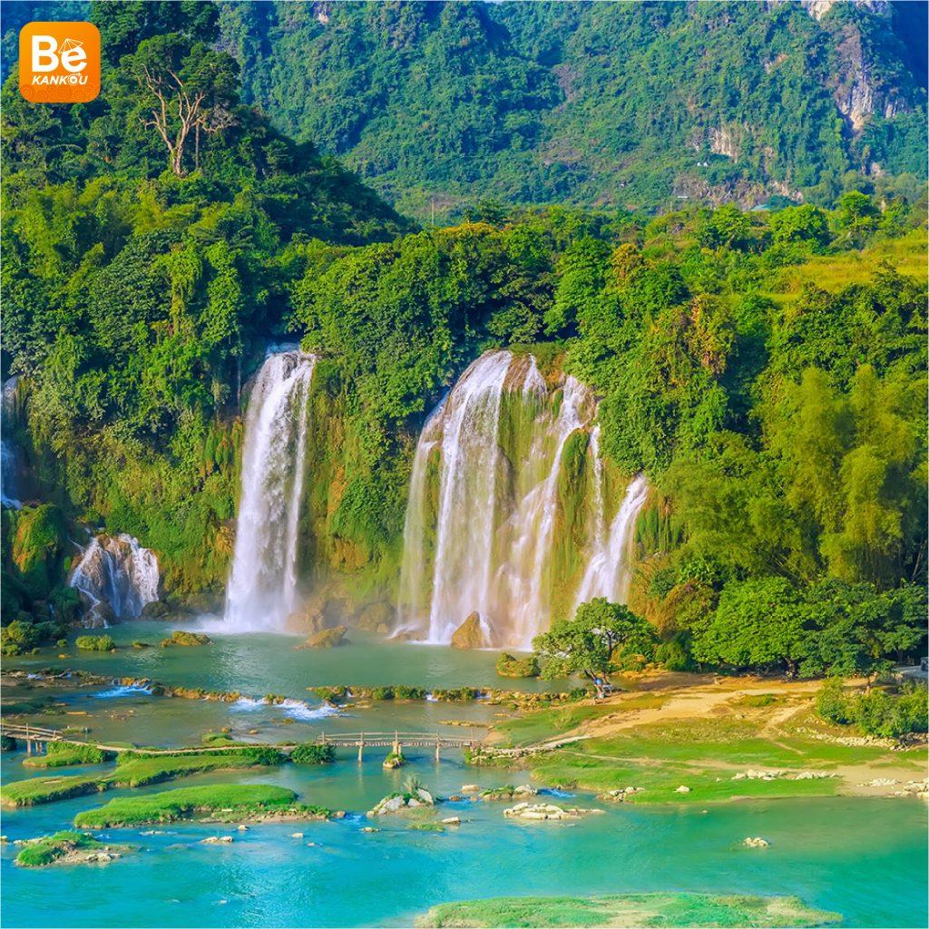 多くの興味深い活動を伴う特別なバンゾック(Thac Ban Gioc)滝祭り7