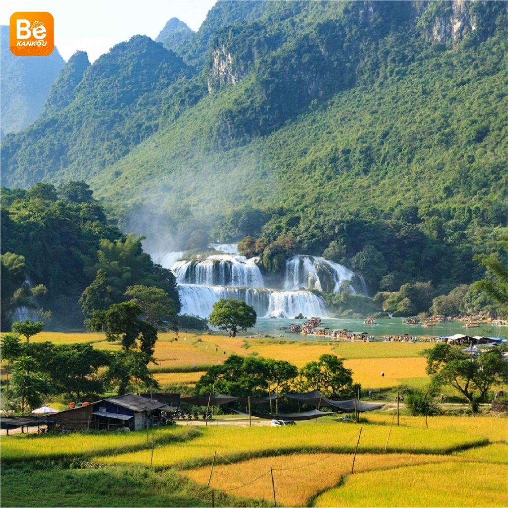 多くの興味深い活動を伴う特別なバンゾック(Thac Ban Gioc)滝祭り6