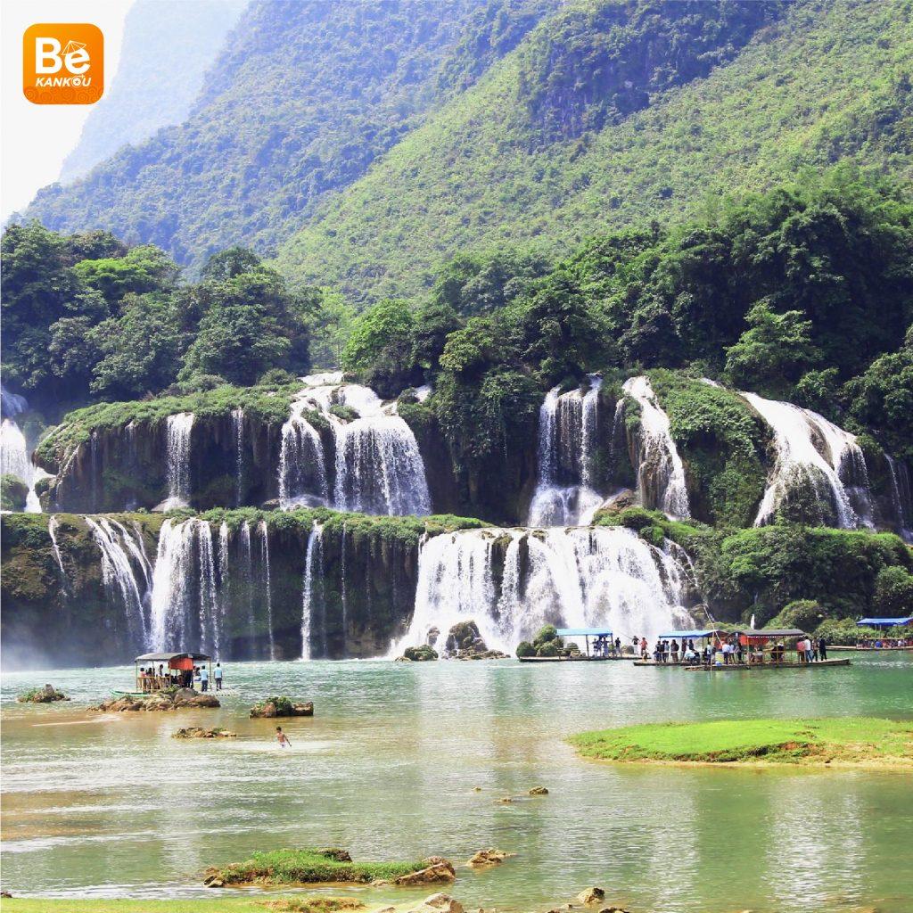 多くの興味深い活動を伴う特別なバンゾック(Thac Ban Gioc)滝祭り4