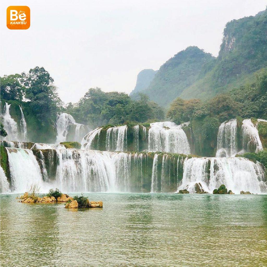 多くの興味深い活動を伴う特別なバンゾック(Thac Ban Gioc)滝祭り3