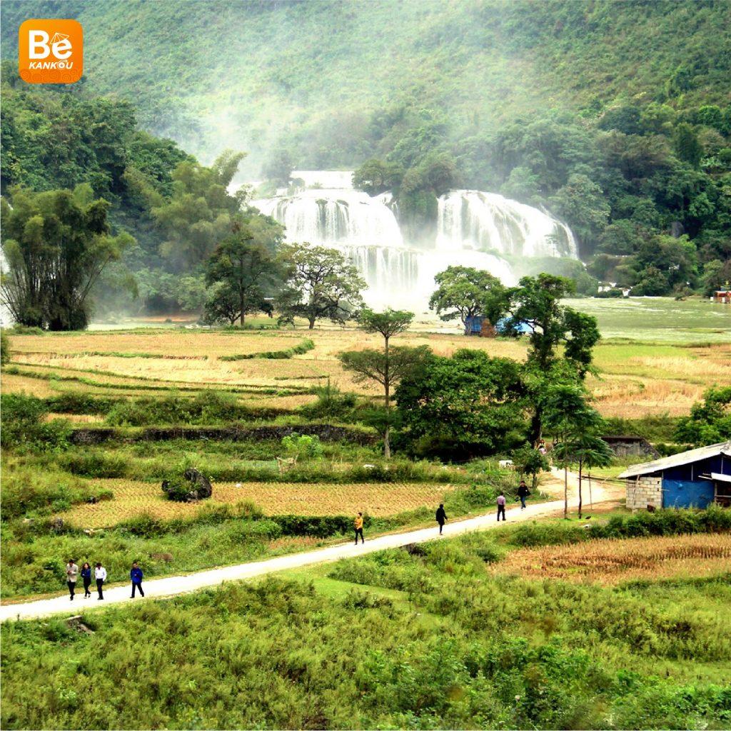 多くの興味深い活動を伴う特別なバンゾック(Thac Ban Gioc)滝祭り2