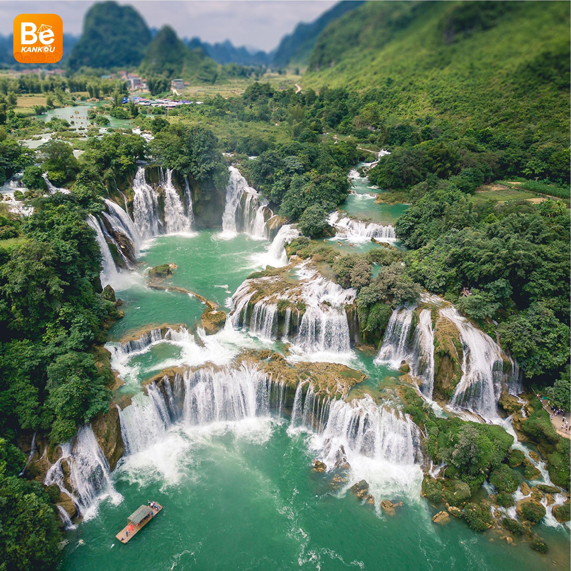 多くの興味深い活動を伴う特別なバンゾック(Thac Ban Gioc)滝祭り