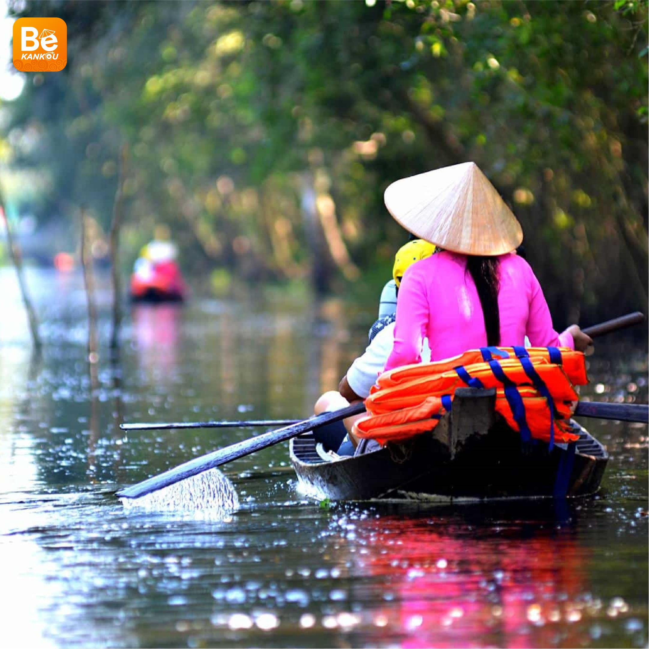 ベトナムの西部を旅行する経験