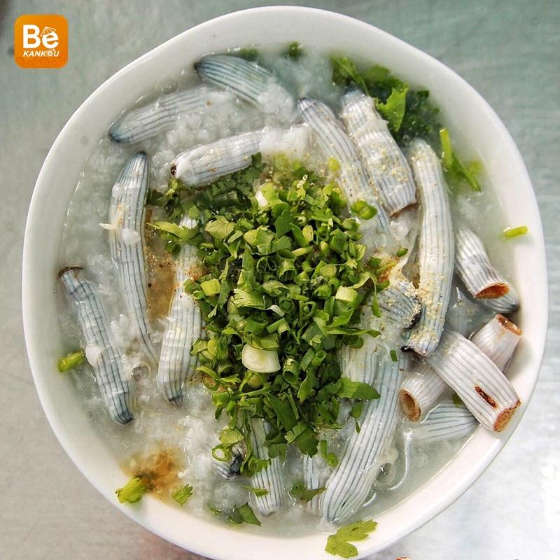スジホシムシのお粥-サイゴンの奇妙な名物(ベトナム語:チャオ・サ・スン、Chao sa sung)