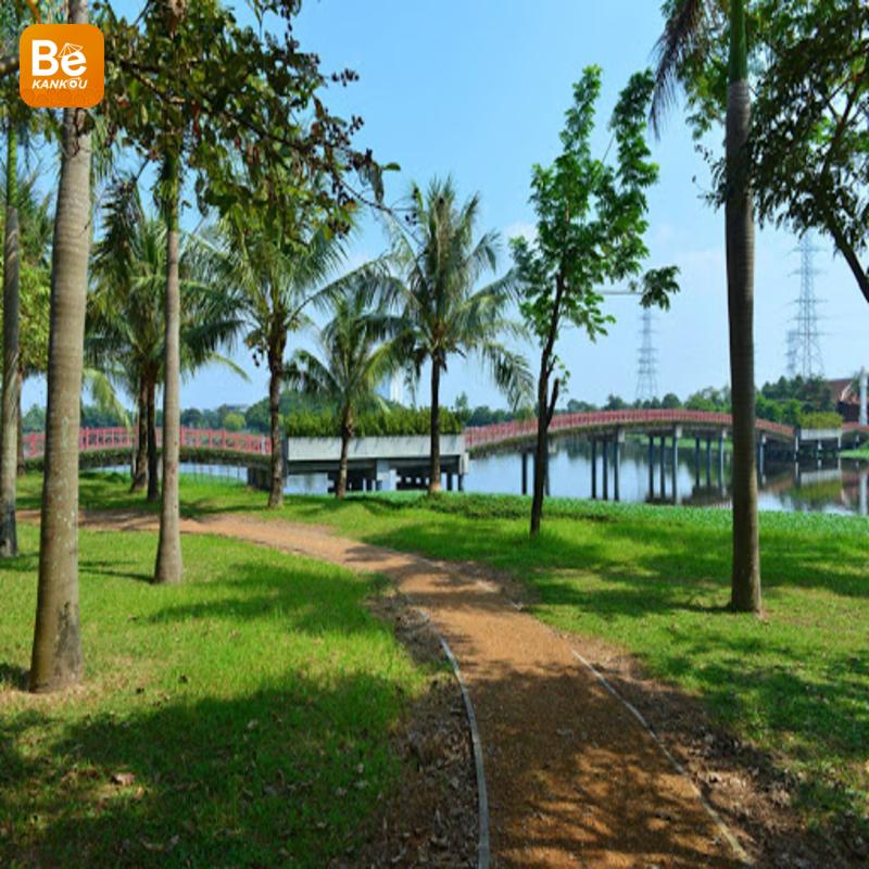 イェンソー(Yen So)公園:東南アジア最大の緑豊かな公園