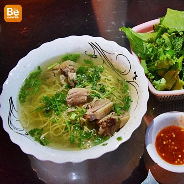 ムイネー(Mui Ne)の名前のないミークアン(Mi Quang)店