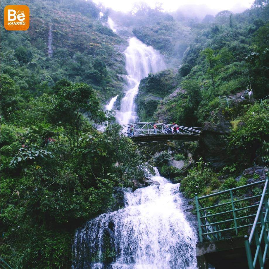 Thac Bac(トァクバク:銀の滝)旅行経験シルバーフォールズ