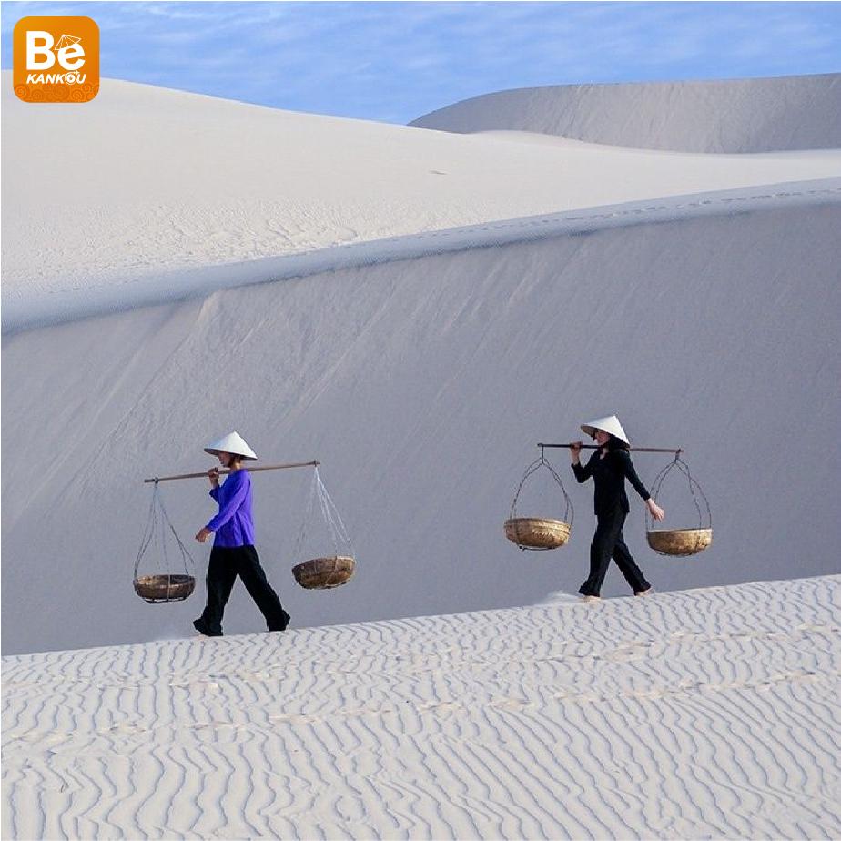 小サハラ砂漠のようなバウトラン砂丘-015