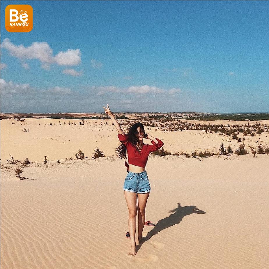 小サハラ砂漠のようなバウトラン砂丘-012