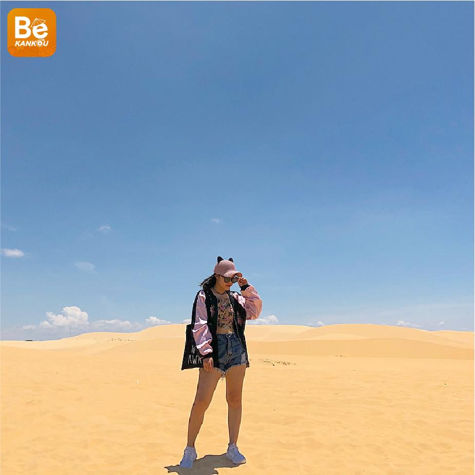 小サハラ砂漠のようなバウトラン砂丘-011