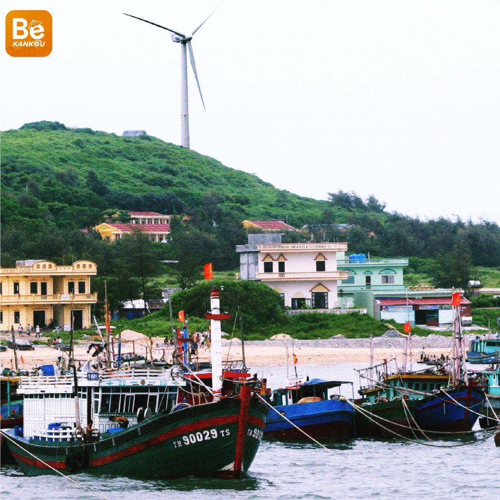 ベトナムのバック・ロン・ヴィ(Bach Long Vi)島の旅行体験-02