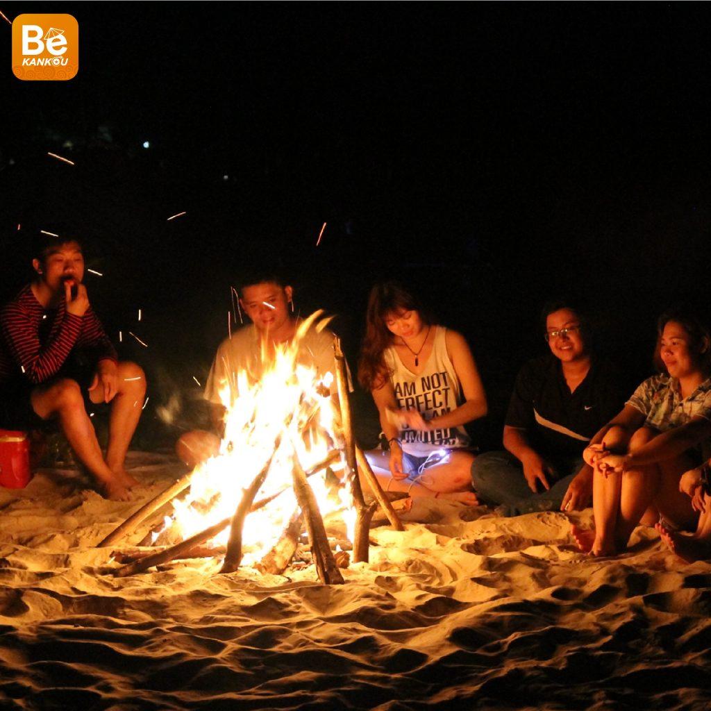 ベトナムのバック・ロン・ヴィ(Bach Long Vi)島の旅行体験-012